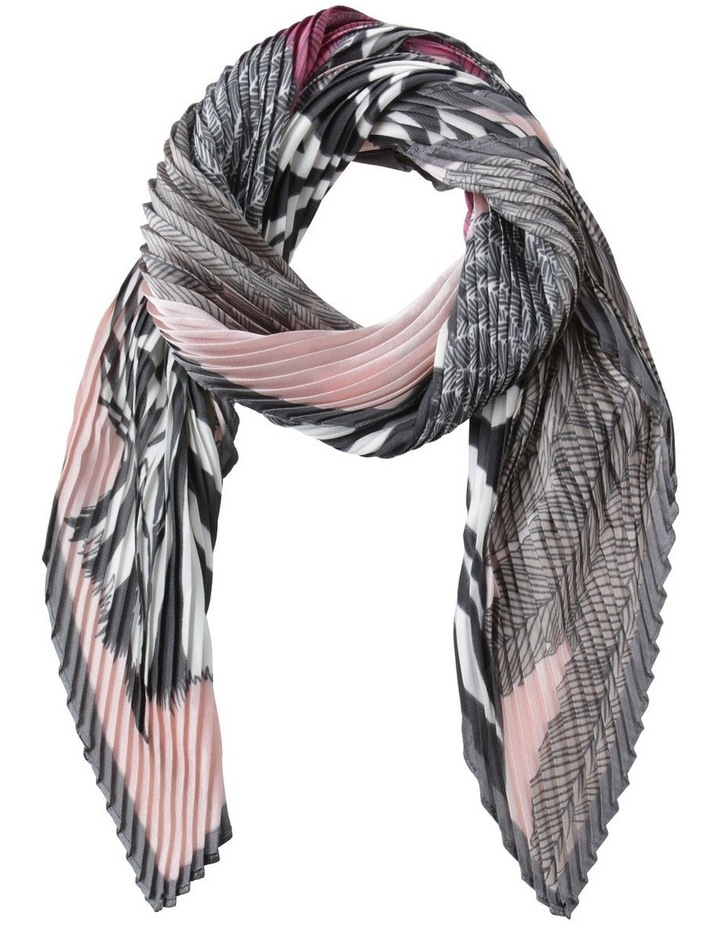 Zebra Pleat Neckerchief Scarf image 1