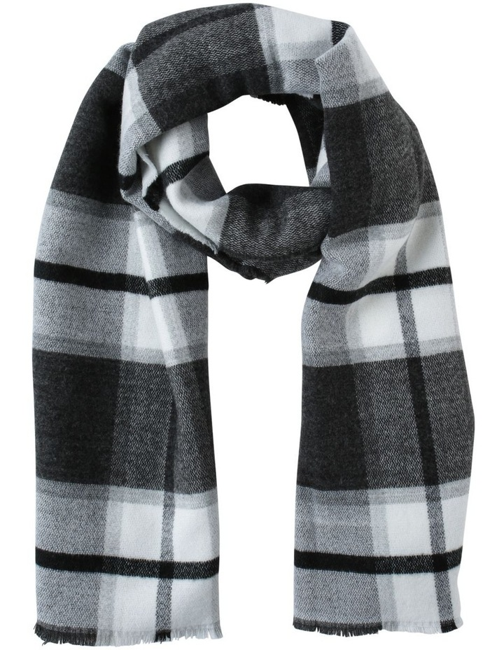 Check Blanket Winter Scarf image 1