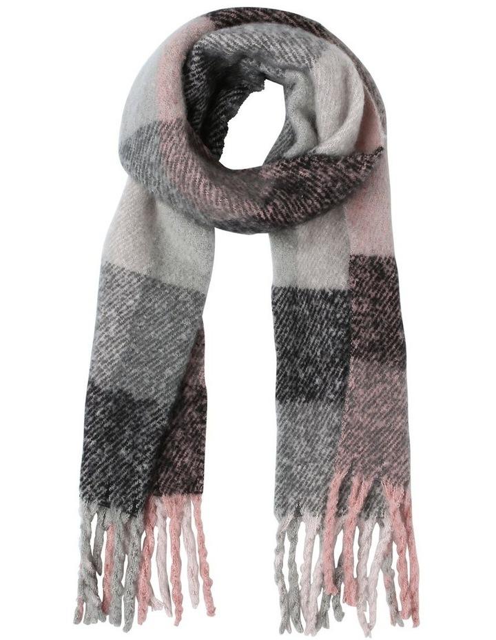 Boucle Tassel Winter Scarf image 1