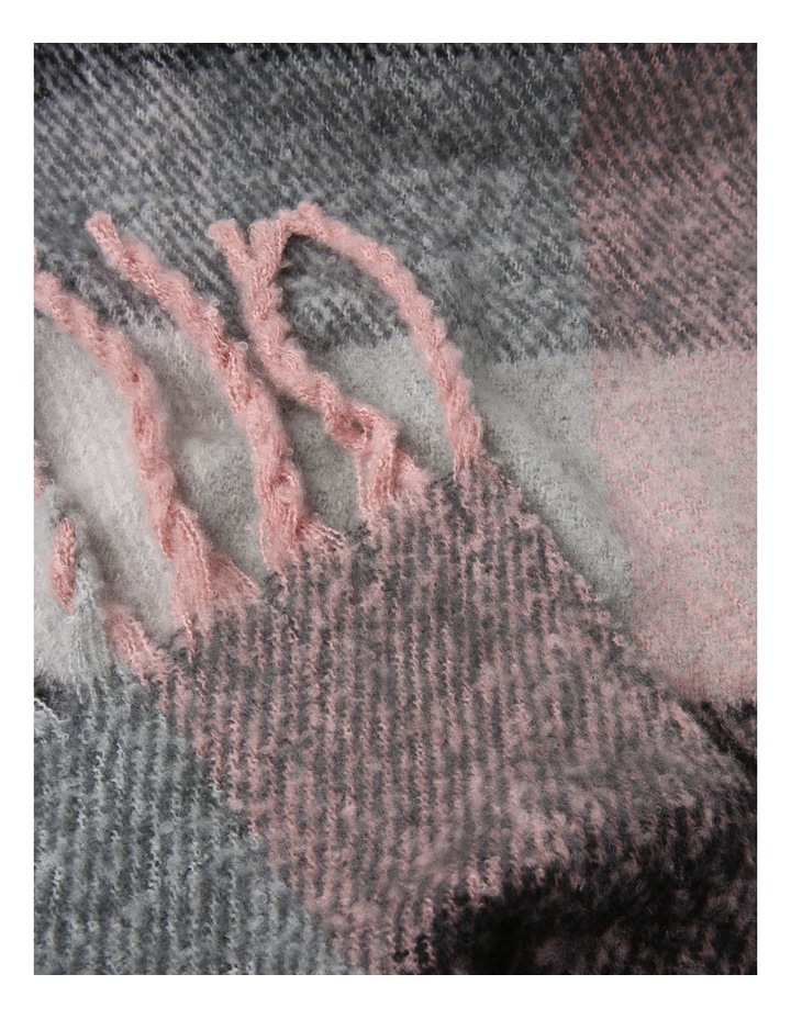 Boucle Tassel Winter Scarf image 2
