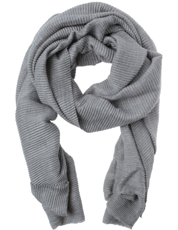 Basic Pleated Winter Scarf image 1