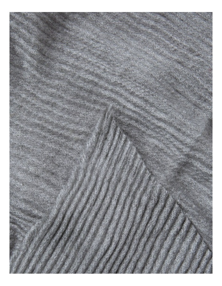 Basic Pleated Winter Scarf image 2