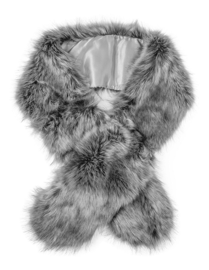 Fur Stole  Winter Scarf image 1