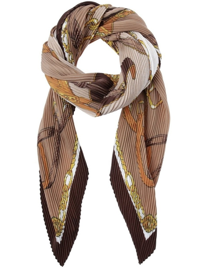 Chain Pleat  Scarf image 1
