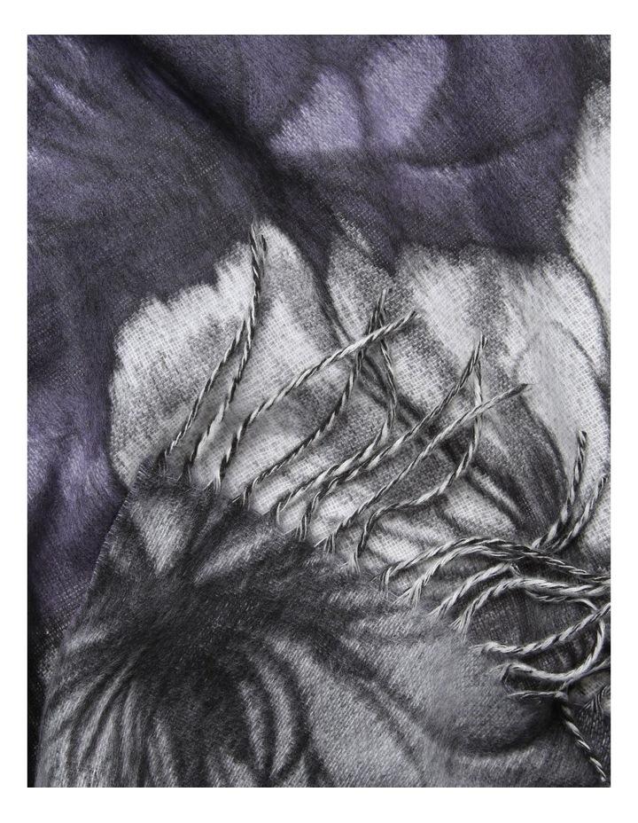 Cashmink Large Floral Winter Scarf image 2