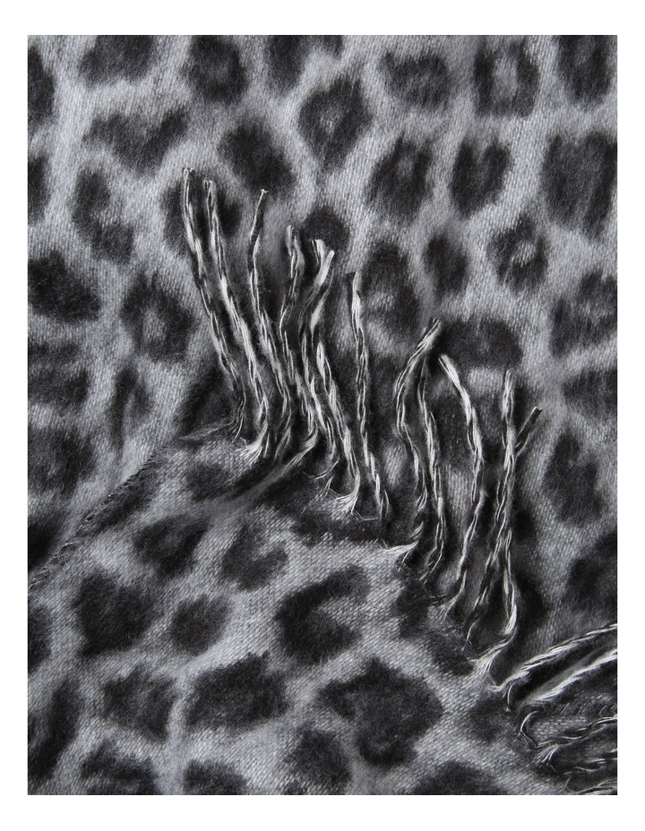 Cashmink Leopard Winter Scarf image 2