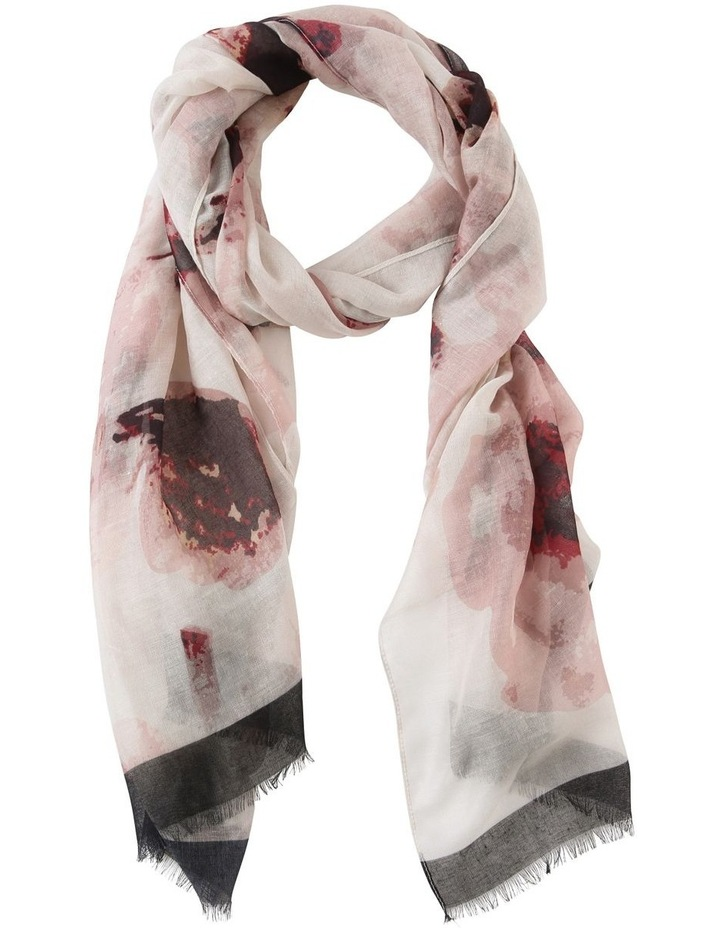 Floral Watercolour Scarf image 1