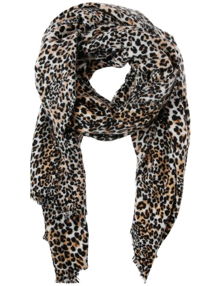 Leopard Print Scarf image 1