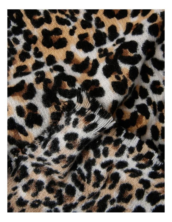 Leopard Print Scarf image 2