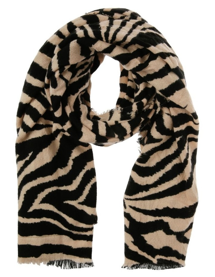 Zebra Print Scarf image 1