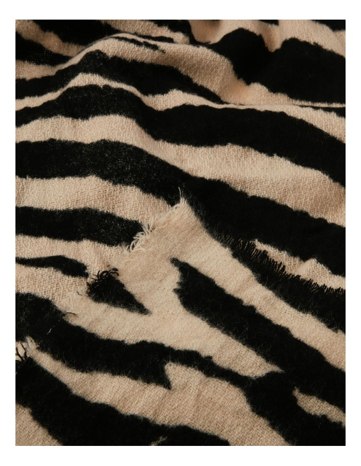 Zebra Print Scarf image 2