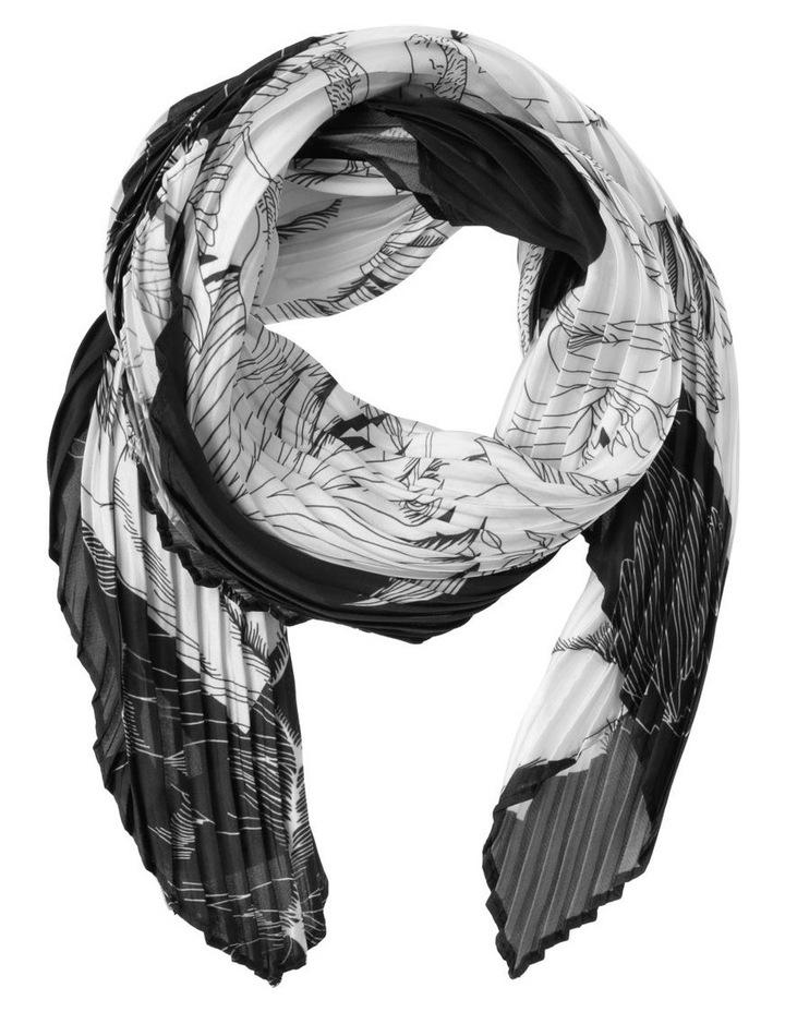 Floral Print Neckerchief Scarf image 1