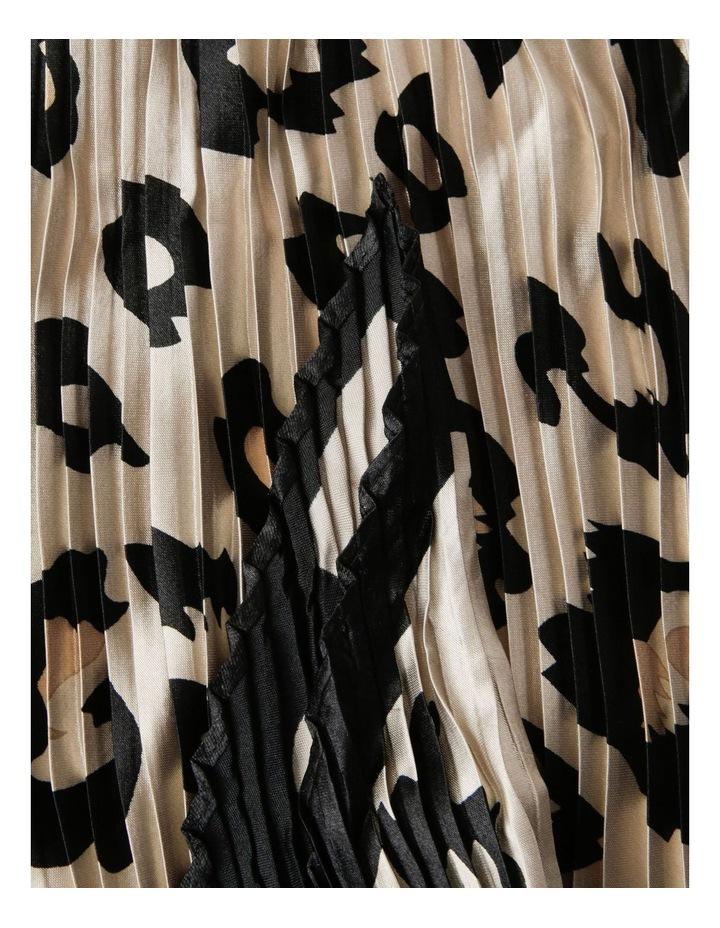 Leopard Print Neckerchief Scarf image 2