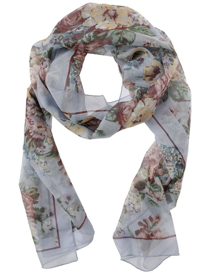 Romantic Floral Scarf image 1