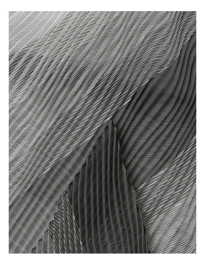 Pleated Ombre Lurex Scarf image 2