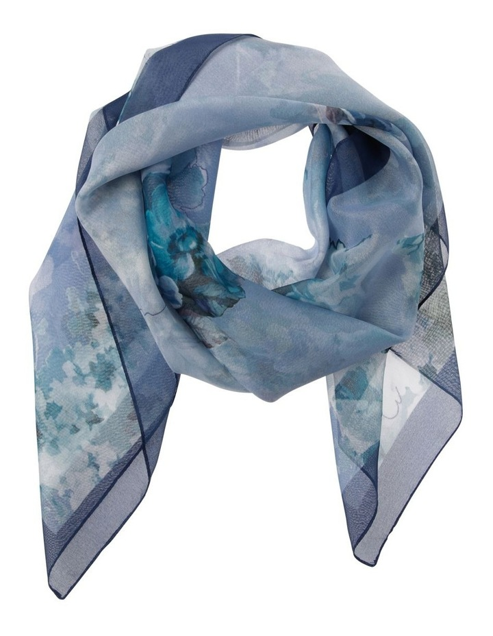 Large Floral Square Scarf image 1