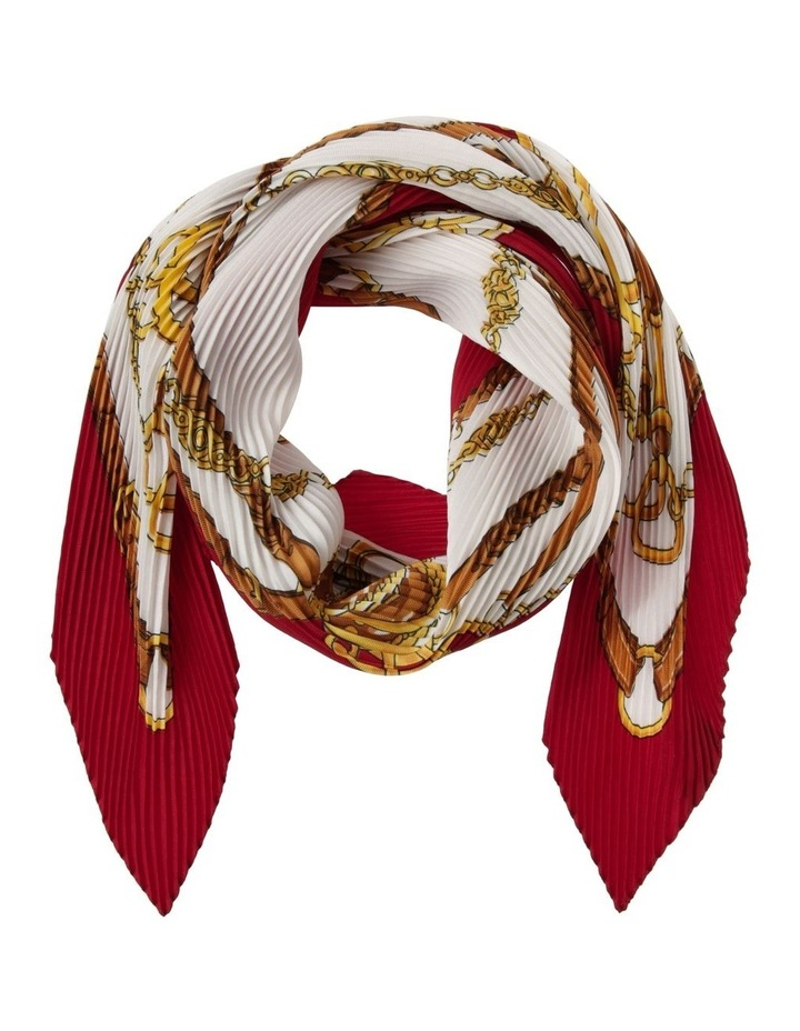 Chain Pleat Neck Scarf image 1