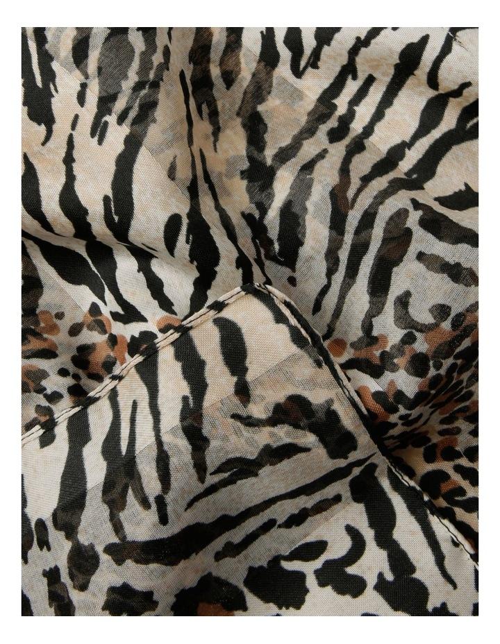 Patchwork Animal With Satin Stripe Scarf image 2