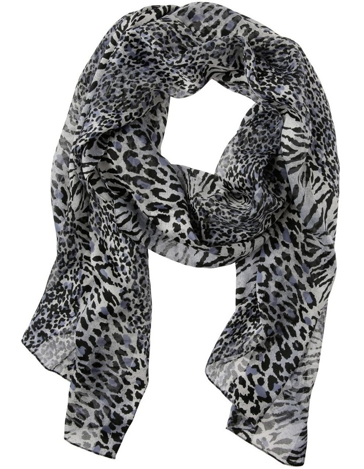 Patchwork Animal With Satin Stripe Scarf image 1
