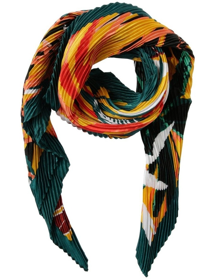 Tropical Neckerchief Pleated Scarf image 1