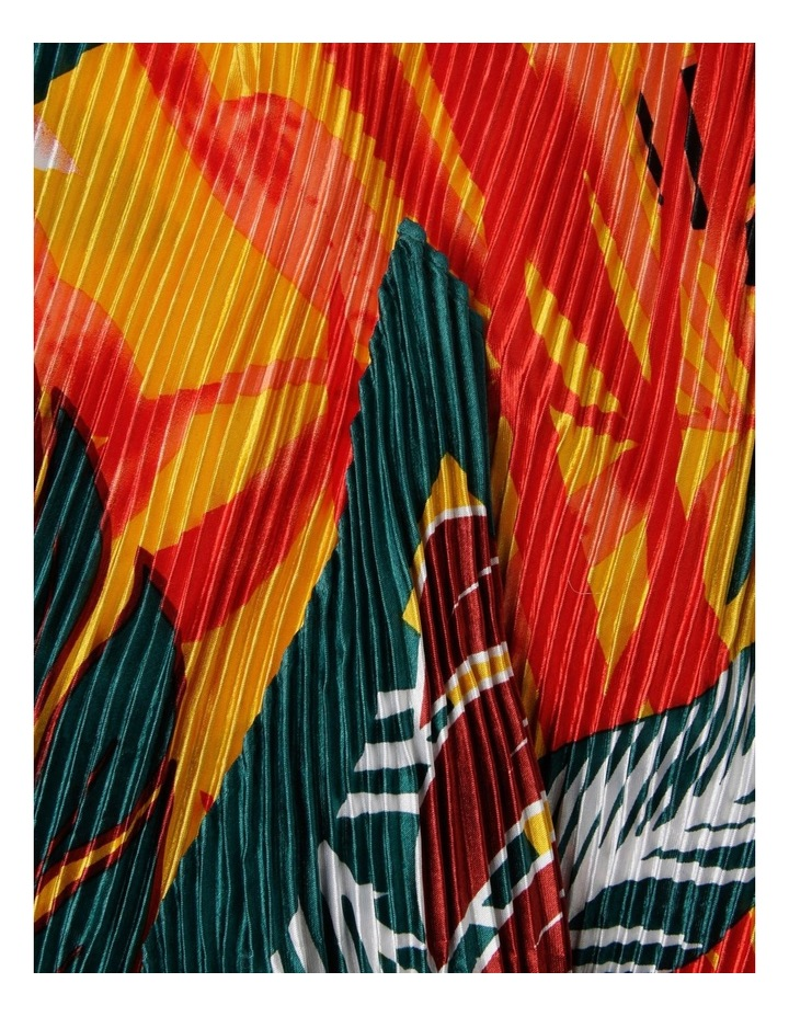 Tropical Neckerchief Pleated Scarf image 2