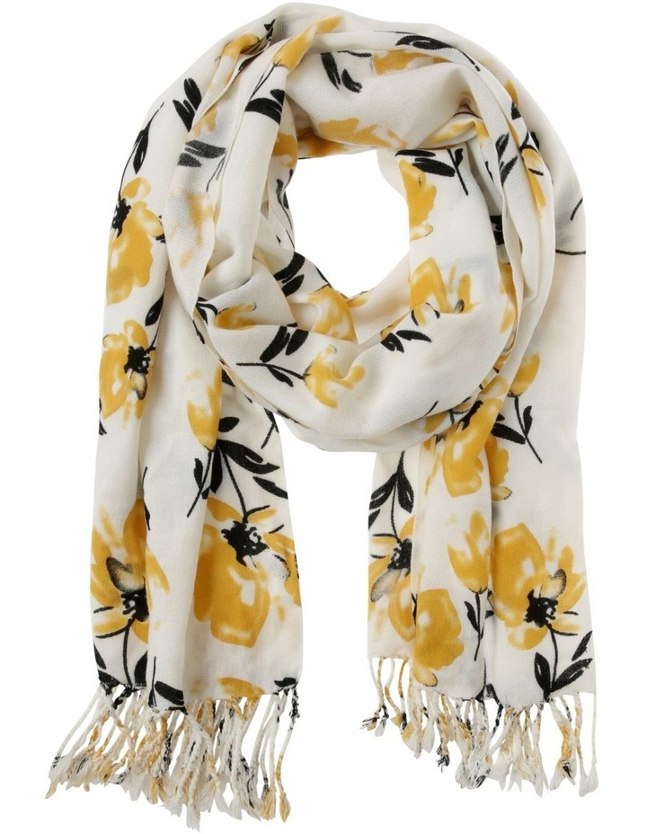 Mid-Weight Floral Scarf image 1