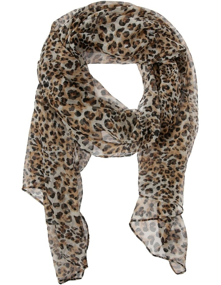 Leopard Light Weight Scarf image 1