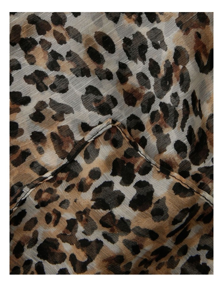 Leopard Light Weight Scarf image 2