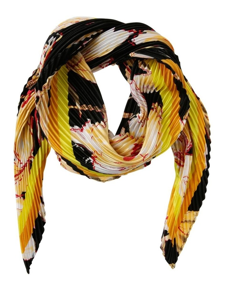 Floral Neckerchief Pleated Scarf image 1