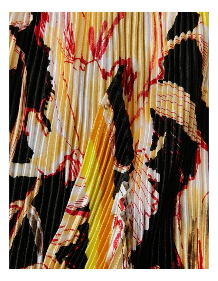 Floral Neckerchief Pleated Scarf image 2
