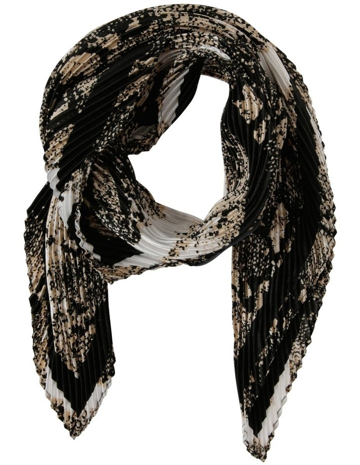 Snake Neckerchief Pleated Scarf image 1