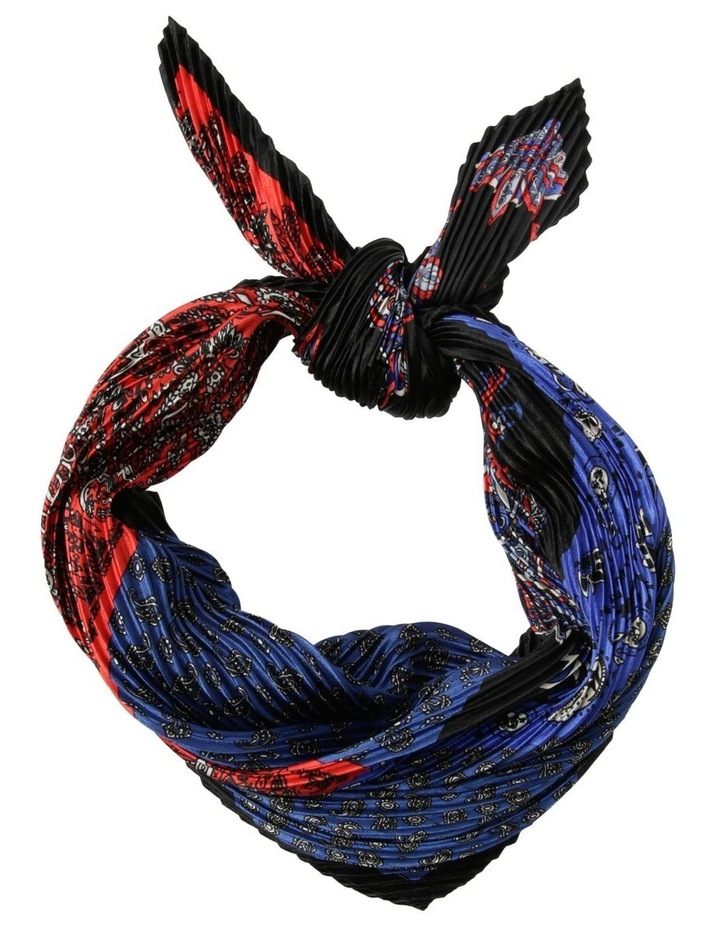 Pleated Paisley Patchwork Neckerchief image 1