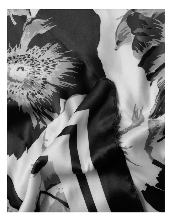 Blurred Floral Scarf image 2