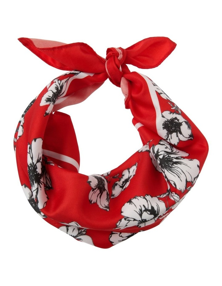 Poppy Print Neckerchief image 1