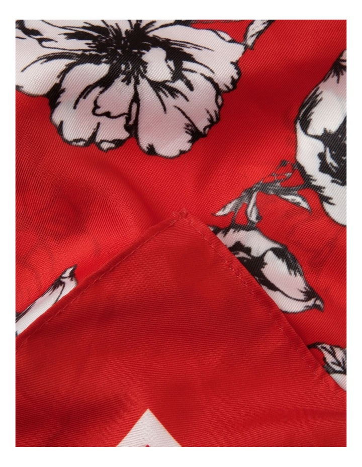 Poppy Print Neckerchief image 2