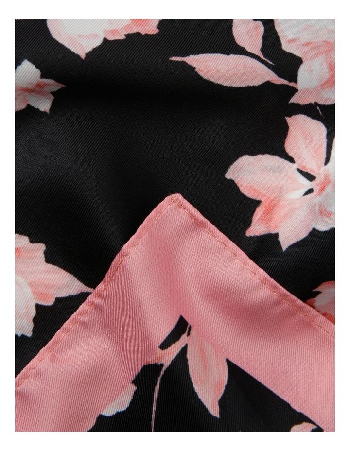 Bold Floral Neckerchief image 2