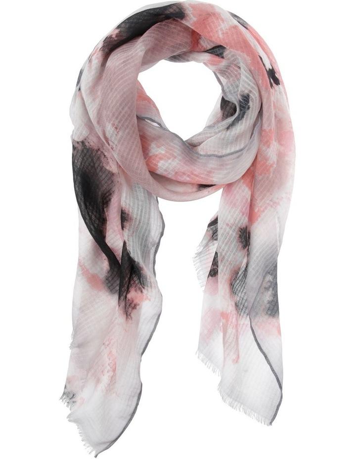 Tie Dye Scarf in Blush image 1