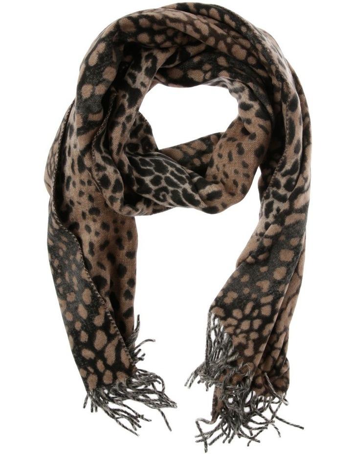 Cashmink Leopard Winter Scarf image 1
