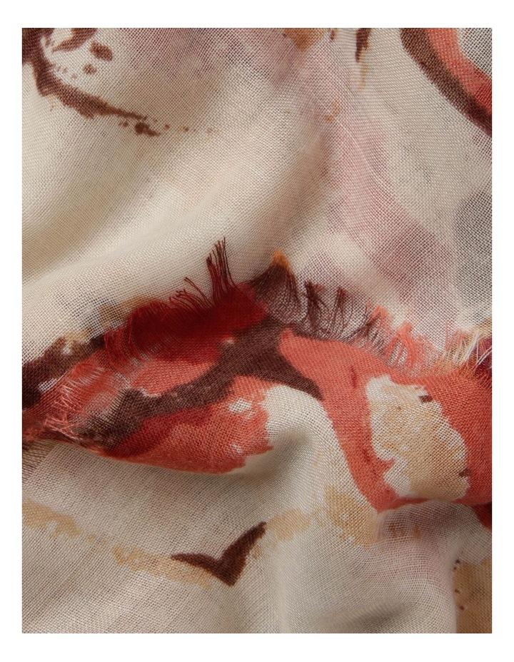 Floral Print Scarf image 2
