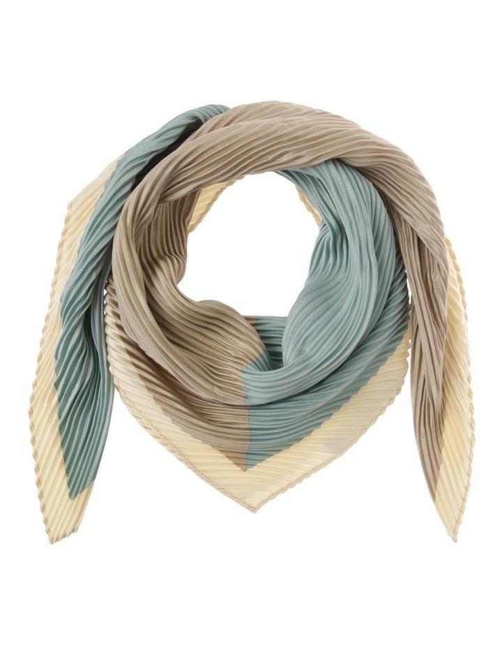 Two-Tone Pleated Neckerchief image 1
