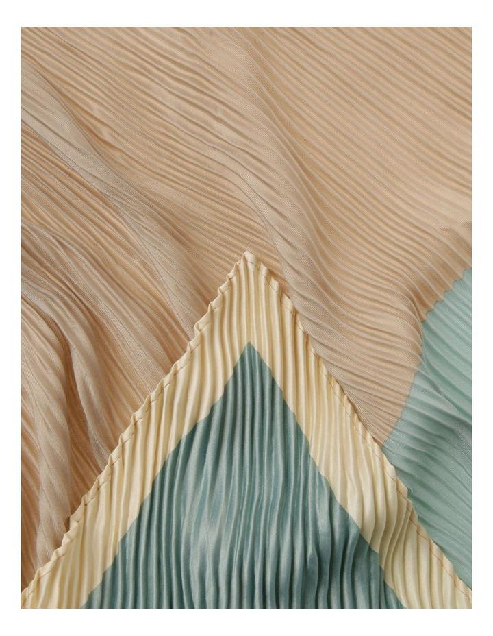 Two-Tone Pleated Neckerchief image 2
