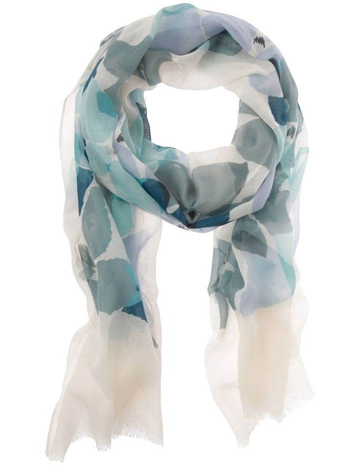 Geometric Floral Scarf image 1