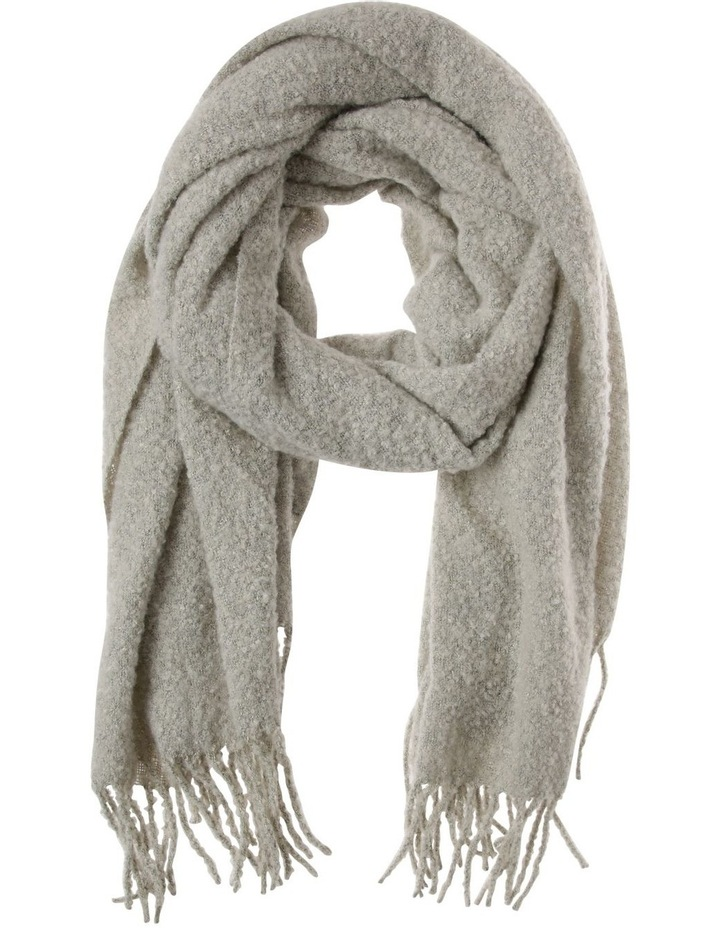 Boucle Scarf With Lurex Detail Winter Scarf image 1