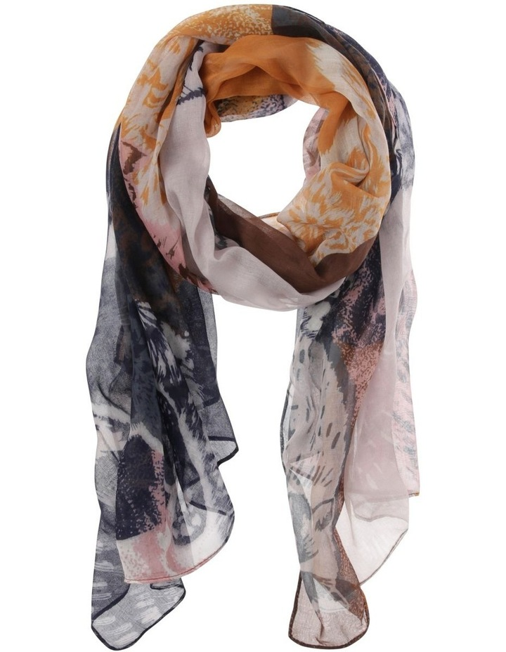 Floral Lightweight Scarf image 1