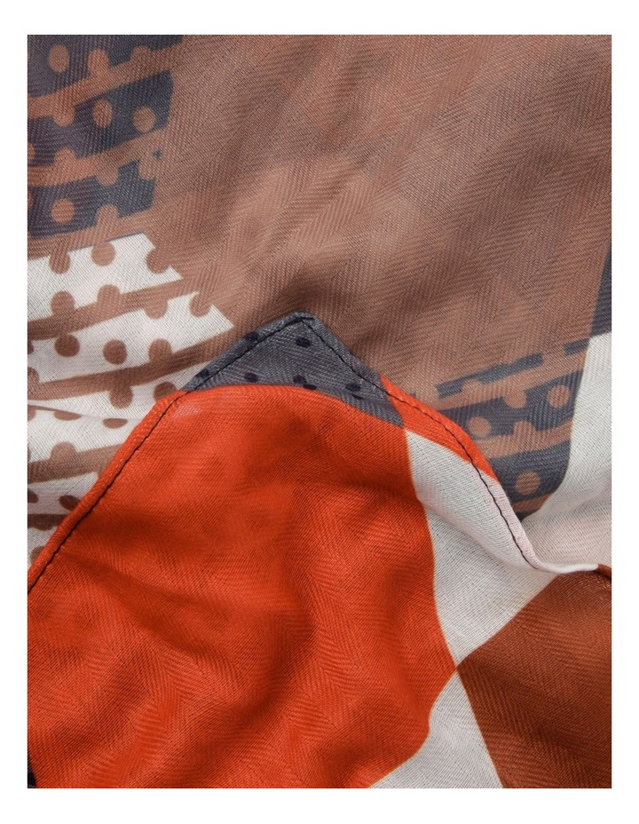 Geometric Lightweight Scarf image 2