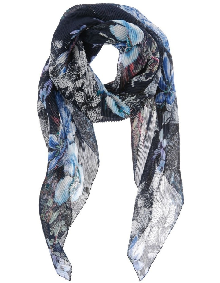 Floral Pleated Scarf image 1