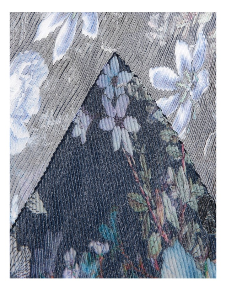 Floral Pleated Scarf image 2