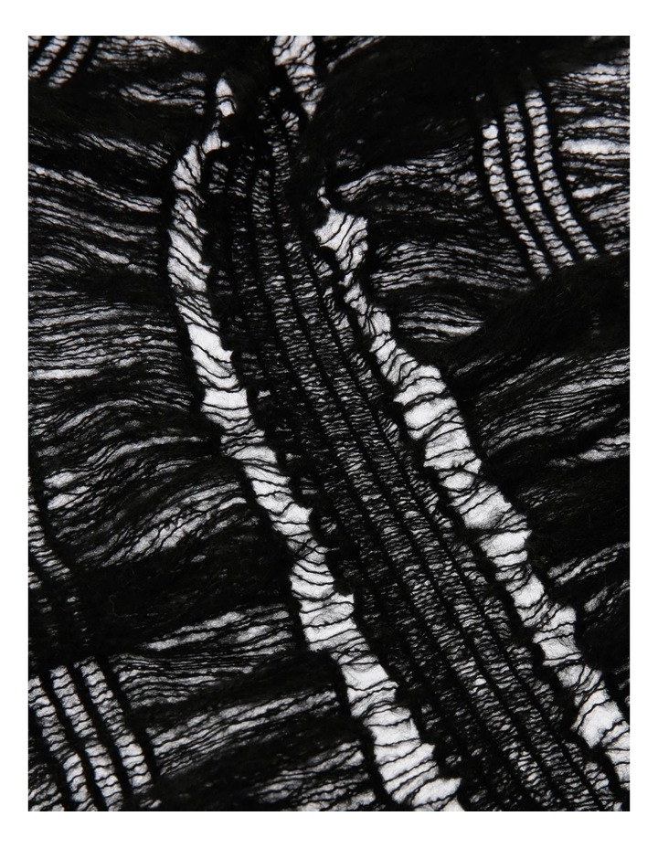 Ruched Ruffle Winter Scarf image 2