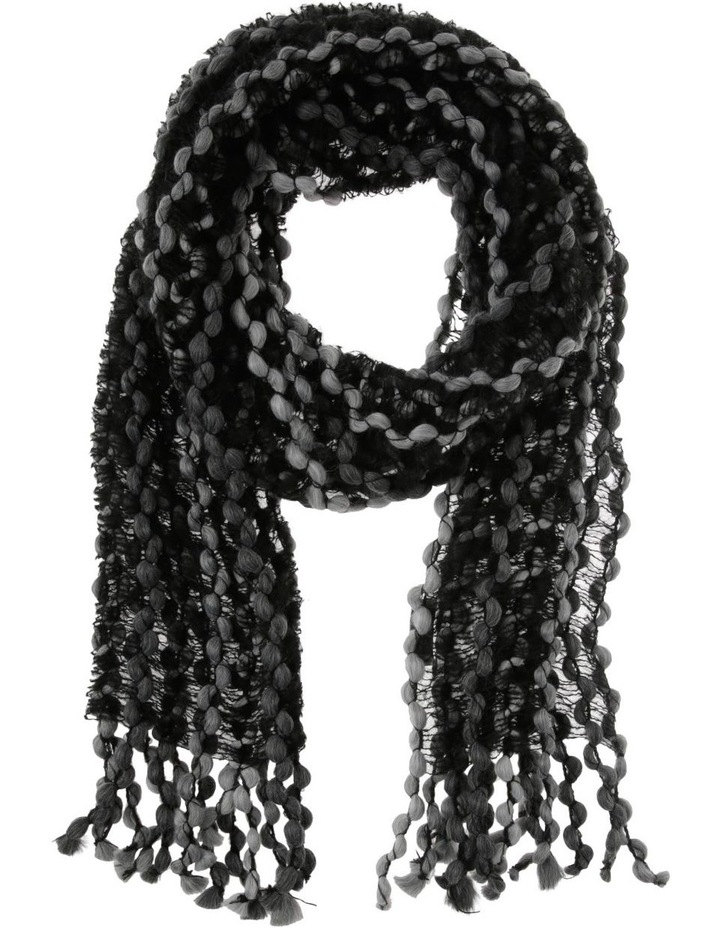 Multi Colour Balled Winter Scarf image 1