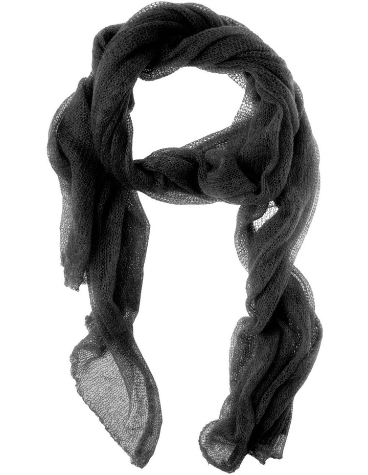Loose Weave Mohair Wrap Winter Scarf image 1